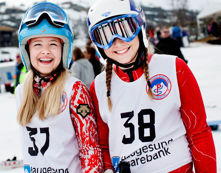 vidden på ski